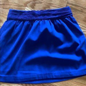 Blue LOFT skirt size 0